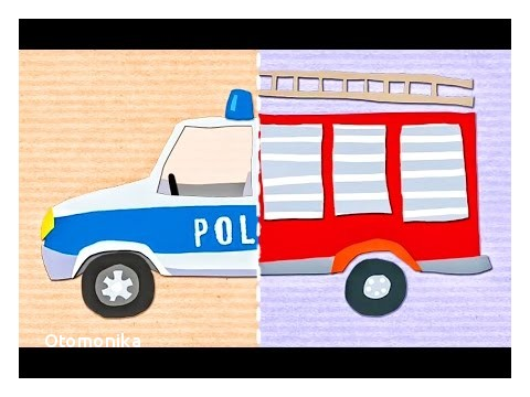 Car Videos for toddlers Ecouter Et Télécharger Play Vehicles Kids Games Match Police Car