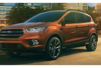 2017 ford Escape Lease Deals 2017 ford Escape S Vs Se Vs Titanium
