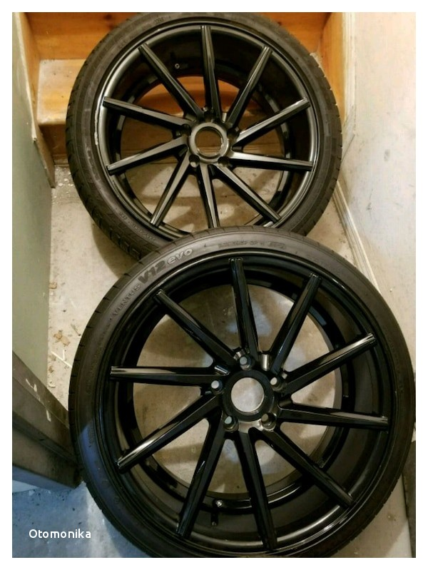 Provider Tires for Sale Used Black Multi Spoke Auto Wheel with Tire Set for Sale In Brooklyn