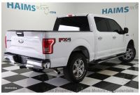 """2016 ford F 150 Price 2016 Used ford F 150 4wd Supercrew 145"""" Xlt at Haims Motors Serving"""