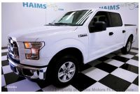 """Fully Loaded 2016 ford F 150 Price 2016 Used ford F 150 2wd Supercrew 145"""" Xlt at Haims Motors Serving"""